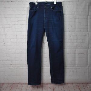 Fidelity Jimmy Slim Straight Leg Jeans Dark wash